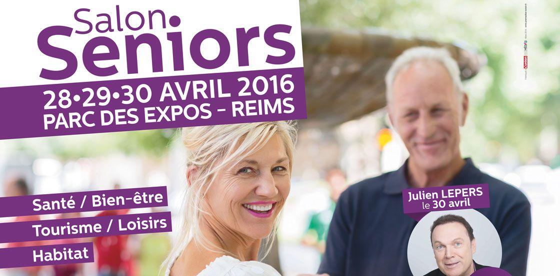 Salon Seniors à Reims du 28 au 30 avril 2016