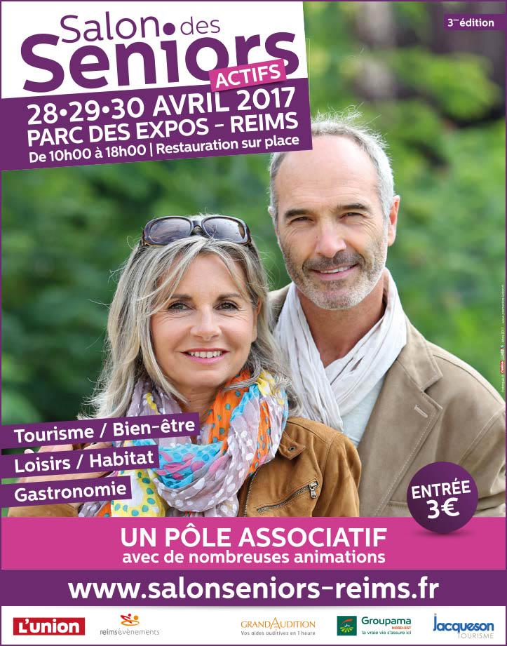Jacqueson Tourisme au salon des séniors actifs 2017 à Reims