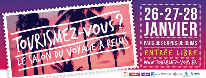 Jacqueson Tourisme au salon du voyage Tourismez-vous 2018 à Reims