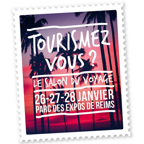 Jacqueson Tourisme au salon Tourismez-vous 2017 à Reims